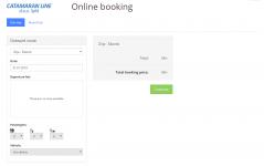 catamaran line on-line ticketing